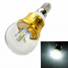 ZHISHUNJIA E14 4W 360lm 8-SMD 5630 LED Cool White Lamp Bulb (85~265V)