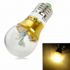 ZHISHUNJIA E27 4W 360lm 3000K 8-SMD 5630 LED Warm White Light Lamp Bulb (AC 85~265V)