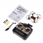 X-40 360 Degree Eversion Mini Wireless Remote Control 4.5-CH 6 Axis Aircraft - Black + Red