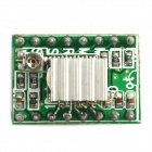MaiTech 03100554 Motor Driver / 3D Printer Module Compatible with A4988 - Green + Silver