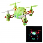 PRESALE Wltoys V272 Mini 4-CH 2.4GHz Four-axis Radio Control R/C Flying Saucer w/ Gyro - Green