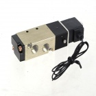 "DC 24V 2-Position 5-Way G1/8"" Exhaust Pneumatic Electromagnetic Solenoid Valve w/ Cable"