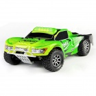 Wltoys A969 1:18 Scale 4-CH 2.4GHz Hi-speed R/C Off-road Vehicle - Green + Black