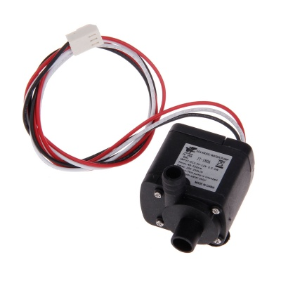 4.5~12V Submersible Water Pump - Black