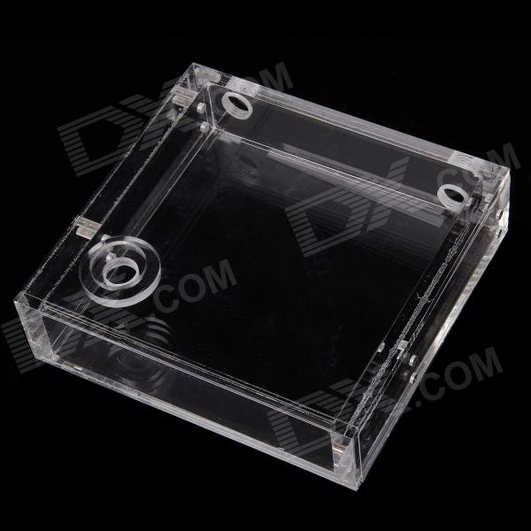Water Cooling Computer Acrylic Water Tank - Transparent 110mm cylinder water tank sc600 pump computer water cooling radiato set drop shipping