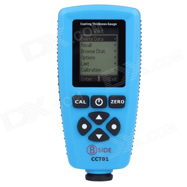 BSIDE CCT01 High Accuracy Coating Thickness Meter Tester - Black + Blue (2 x AAA) кальсоны user кальсоны