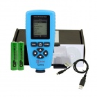 BSIDE CCT01 High Accuracy Coating Thickness Meter Tester - Black + Blue (2 x AAA)