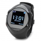 "ZGPAX PG88 GSM Watch Phone w/ 1.44"" LCD Screen, Quad-Band, GPS Positioning and SOS - Black"