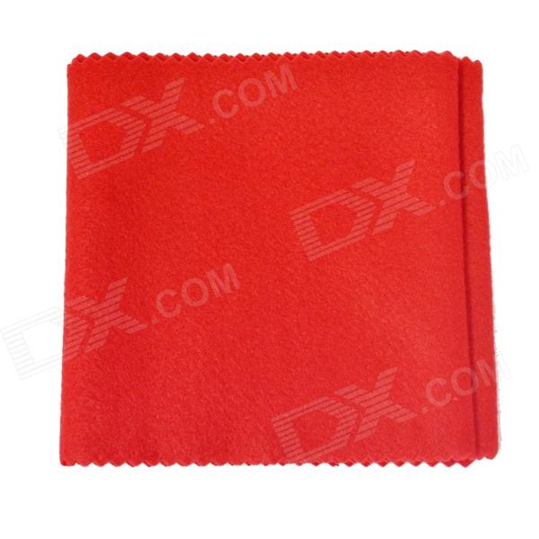 DEDO PA-28 Piano Accessories PA-26 Red Flannelette Piano Keyboard Dust-proof Cloth - Red