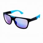 OREKA K357 Stylish Vintage UV400 Outdoor Sunglasses - Blue + Black