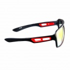 Oreka 7858 de aro preto Red REVO Lente 100% UV Anti-UVA UVB Sunglasses