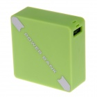 HONGYI XF1A Convenient Universal 2850mAh Portable Power Bank - Green
