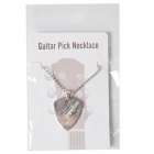 DEDO MG-14 Metal Guitar Picks Necklace - Silver