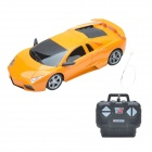 BY2788B Cool 1:24 Sports Car Style R/C Model Toy - Orange + Black
