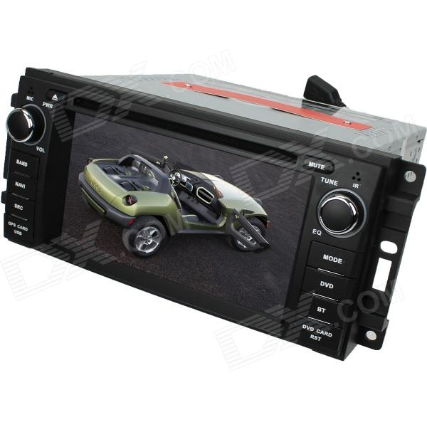 LsqSTAR 6.2 Car DVD Player w/ GPS,RDS,AUX,SWC,CanBus,6CDC,TV,BT phonebook,Dual Zone for Jeep Series автомобильный dvd плеер oem dvd chevrolet cruze 2008 2009 2010 2011 gps bluetooth bt tv