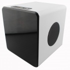 KR-5400 Touch Screen Speaker w/ TF / FM for Cellphone / Tablet / MP3 / MP4 - White + Black