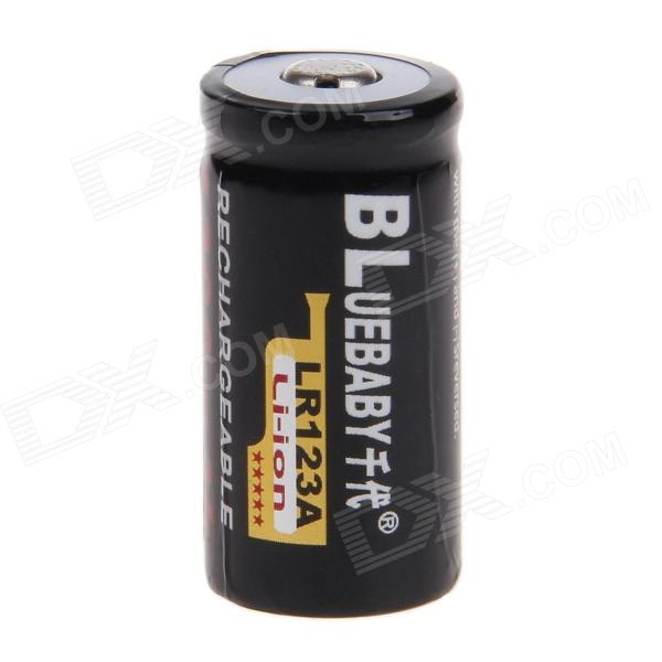 BL LR123A 1200mAh 3.6V Li-ion Rechargeable Battery - Black new touch screen touch glass for hmi gt1155 qsbd gt1155 qsbd c gt1155 qsbd gt1155qsbd gt1155 qsbd c freeship 1year warranty