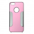 YTW-182 Protective PC + Alloy Back Case for IPHONE 5C - Pink + Silver
