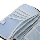 Multi-Function Ticket / Passport / Card Storage Bag - Dark Blue
