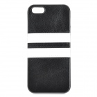 HHEC-263 Protective PU Leather + TPU Back Case for IPHONE 5 / 5S - Black