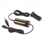 1101A 3.5mm Plug Car MP3 FM Transmitter / Charger w/ USB 2.0 / Micro USB for Cellphones - Black