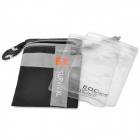 EDCGEAR Water Resistant Outdoor Survival Pouch Bag - Black (Size S)