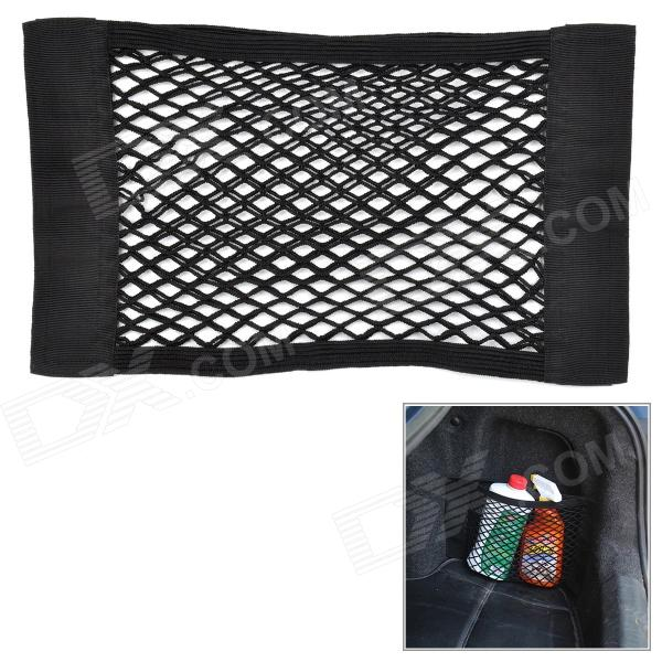 Hanging Velcro Nylon Mesh Storage Bag for Car - BlackCar Holders and Organizer<br>Form ColorBlackBrandN/AModelN/AQuantity1 DX.PCM.Model.AttributeModel.UnitMaterialNylonShade Of ColorBlackTypeBagUsing WayHanging TypeMax. Load1800 DX.PCM.Model.AttributeModel.UnitOther Features40 x 25cmPacking List1 x Bag<br>