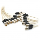 RGBHV OD18.0 Male 8BNC Cable - Off-White + Black (106cm)
