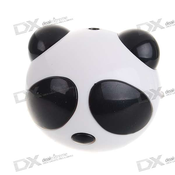 Cute Panda Portable USB Rechargeable Speaker (3.5mm/DC 5V)