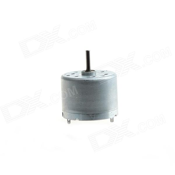 CCDJ 310 DIY DC 3V-9V DC Motor / Toy Motor / Micro Motor - Silver Grey ccdj 385 diy copier motor vacuum cleaner motor dryer machine motor 3v 48v 800 20000 rev min