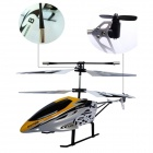 HengXiang HX708 Mini 2-CH IR Remote Control R/C Helicopter w/ Gyro - Yellow + White + Black