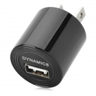Dynamic8 010 USB Home Charger - Black (US Plug / 220V)