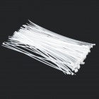 Self-lock Nylon Cable / Wire Ties - White (100 PCS)