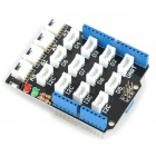 Seeed Base Shield V1.3 Grove Sensor Expansion Board - White + Black + Blue