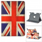 Flag of UK Pattern 360 Degree Rotatable PU Case w/ Stand for Amazon Kindle Fire HDX 8.9