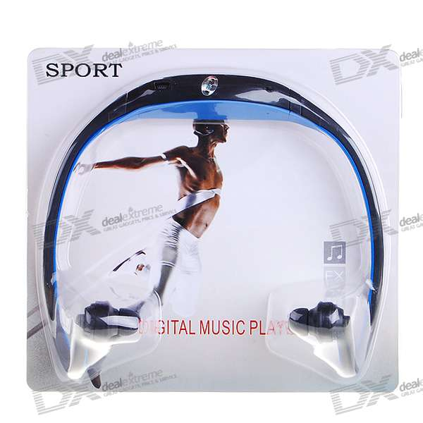 USB Rechargeable Trendy Sport MP3 Player (2GB)