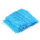 Self-lock Nylon Cable / Wire Ties - Blue (1000 PCS)