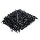 Self-lock Nylon Cable / Wire Ties - Black (1000 PCS)