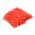 Self-lock Nylon Cable / Wire Ties - Red (1000 PCS)