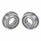 MF84ZZ DIY Steel Ball Bearings for Model / Toy / Robot - Silver (2 PCS)