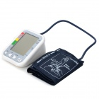 "ARM HF-B31 4.2"" LCD Voice Digital Blood Pressure Measuring Sphygmomanometer - White + Multicolored"