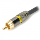 XLR Male to RCA Male Cable - Black + Golden + Multi-Colored (105cm)