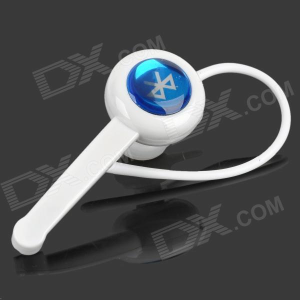 QUICKMAN HM901 Stereo Bluetooth V4.0 + EDR In-ear Earphone w/ Microphone - White
