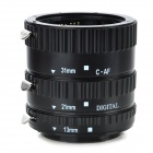 KWEN CN-L1 Macro Extension Tube Set for Canon - Black
