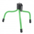 "Universal Mini Portable Desktop Flexible Leg 1/4"" Tripod for Camera - Green + Black"