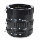 KWEN CN-SJ1 Macro Extension Tube Set for Canon - Black