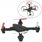 Brilink BH07 Mini 2.4G Radio Control 4-CH Quadcopter R/C Aircraft 3D Tumbling w/ 6-Axis Gyro - Black