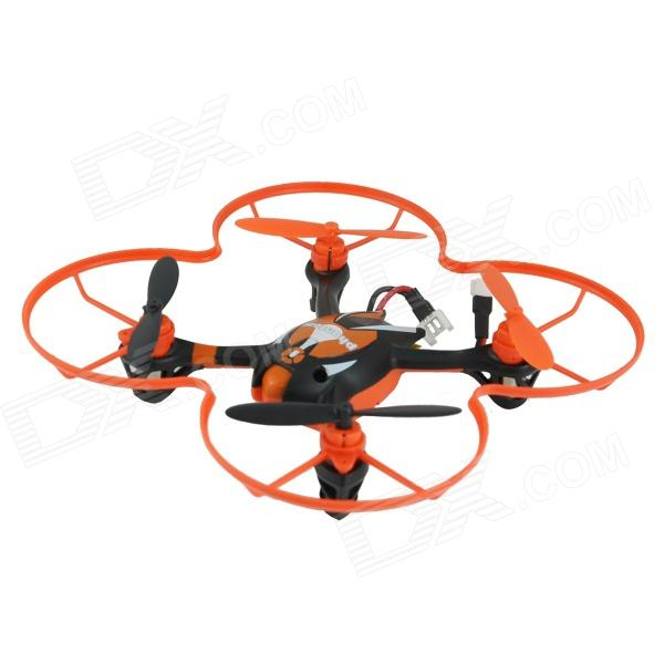 Brilink BH08 Mini 2.4G Radio Control 4-CH Quadcopter R/C Aircraft 3D Tumbling w/ 6-Axis Gyro - Black
