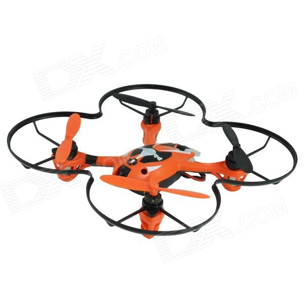 Brilink BH08 Mini 2.4G Radio Control 4-CH Quadcopter R/C Aircraft 3D Tumbling w/6-Axis Gyro - Orange