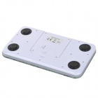 VBS110 Praktisk Mini Digital Body Scale - Hvit + Purple (1 x CR2032)